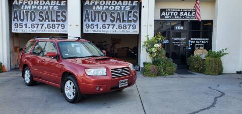 2006 Subaru Forester for sale at Affordable Imports Auto Sales in Murrieta CA