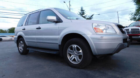 2004 Honda Pilot for sale at Action Automotive Service LLC in Hudson NY