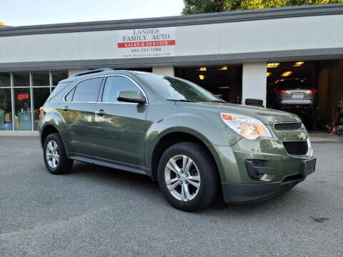 2015 Chevrolet Equinox for sale at Landes Family Auto Sales in Attleboro MA