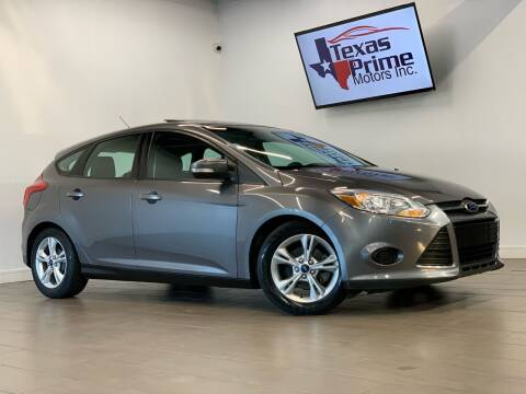 2014 Ford Focus for sale at Texas Prime Motors in Houston TX