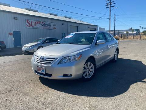 2008 Toyota Camry for sale at SUPER AUTO SALES STOCKTON in Stockton CA