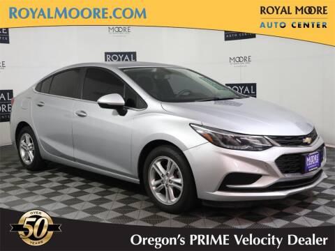 2017 Chevrolet Cruze for sale at Royal Moore Custom Finance in Hillsboro OR