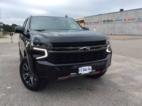 2021 Chevrolet Suburban for sale at SC SALES INC in Houston TX
