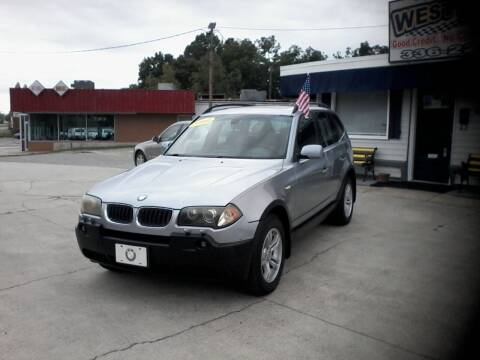 2004 BMW X3 for sale at West Elm Motors in Graham NC
