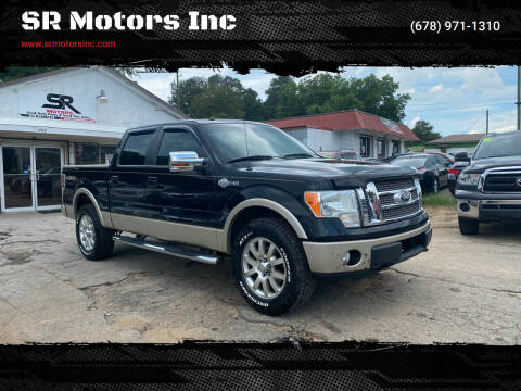 2010 Ford F-150 for sale at SR Motors Inc in Gainesville GA
