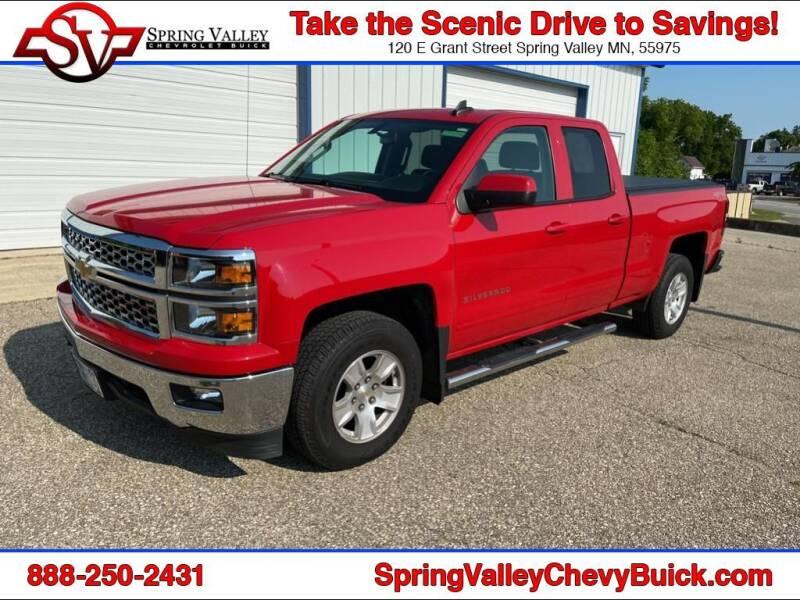 2015 Chevrolet Silverado 1500 for sale at Spring Valley Chevrolet Buick in Spring Valley MN
