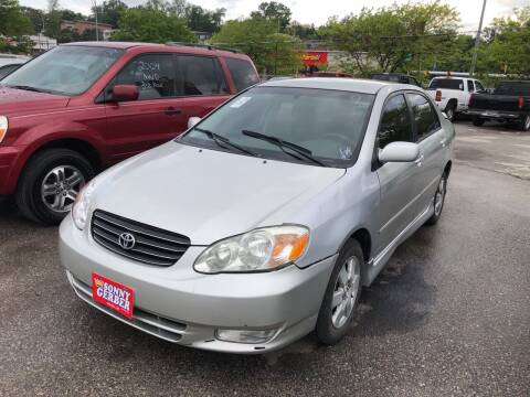 2003 Toyota Corolla for sale at Sonny Gerber Auto Sales in Omaha NE