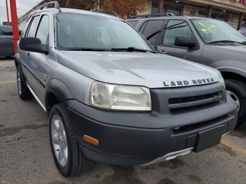 2003 Land Rover Freelander for sale in Houston, TX