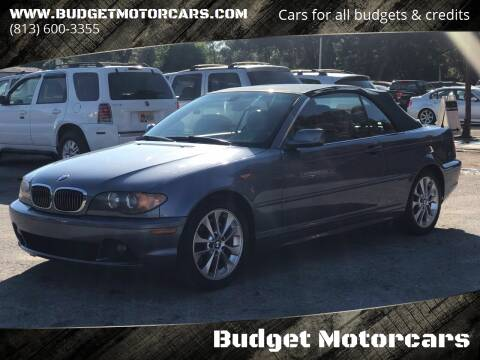 2004 BMW 3 Series for sale at Budget Motorcars in Tampa FL