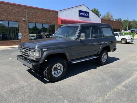 1988 Toyota Land Cruiser for sale at Impex Auto Sales in Greensboro NC