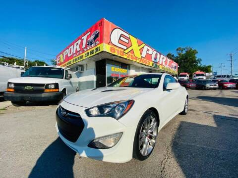 2013 Hyundai Genesis Coupe for sale at EXPORT AUTO SALES, INC. in Nashville TN