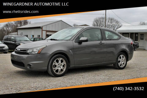 2010 Ford Focus for sale at WINEGARDNER AUTOMOTIVE LLC in New Lexington OH