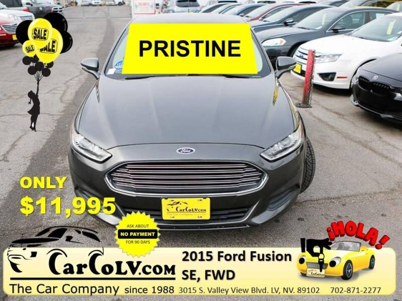 2015 Ford Fusion for sale in Las Vegas, NV