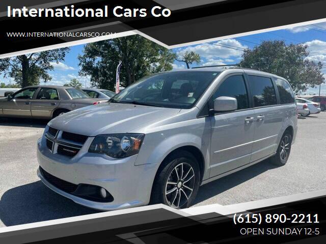 2016 Dodge Grand Caravan for sale at International Cars Co in Murfreesboro TN