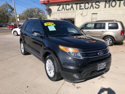 2013 Ford Explorer for sale at Zacatecas Motors Corp in Des Moines IA