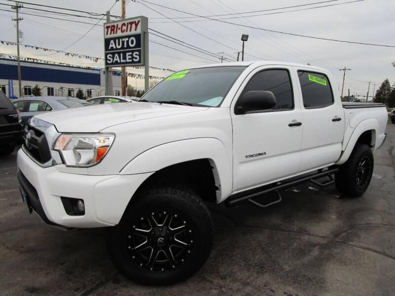 2015 Toyota Tacoma for sale at TRI CITY AUTO SALES LLC in Menasha WI