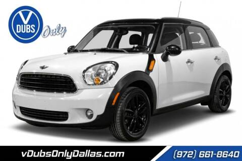 2012 MINI Cooper Countryman for sale at VDUBS ONLY in Dallas TX