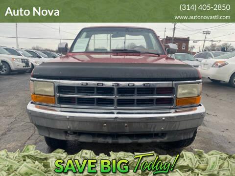 1991 Dodge Dakota for sale at Auto Nova in St Louis MO