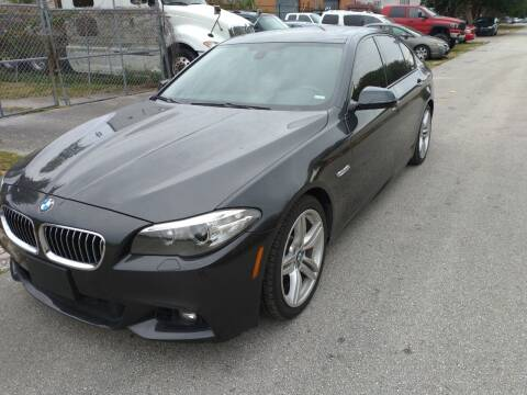 2015 BMW 5 Series for sale at LAND & SEA BROKERS INC in Deerfield FL