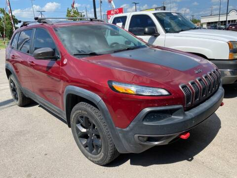 2015 Jeep Cherokee for sale at Auto Solutions in Warr Acres OK
