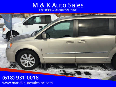 2014 Chrysler Town and Country for sale at M & K Auto Sales in Granite City IL