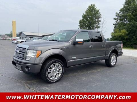 2012 Ford F-150 for sale at WHITEWATER MOTOR CO in Milan IN
