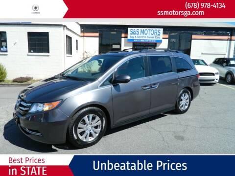 2015 Honda Odyssey for sale at S & S Motors in Marietta GA