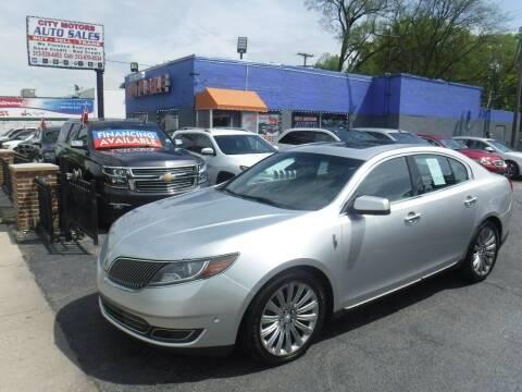 2013 Lincoln MKS for sale at City Motors Auto Sale LLC in Redford MI