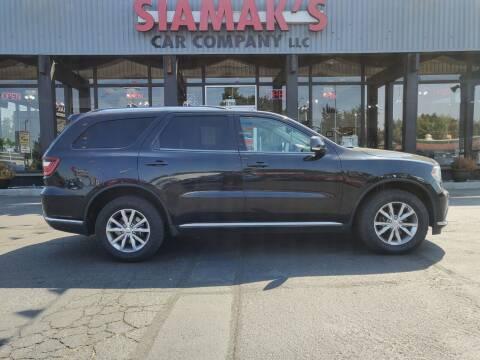 2014 Dodge Durango for sale at Siamak's Car Company llc in Salem OR