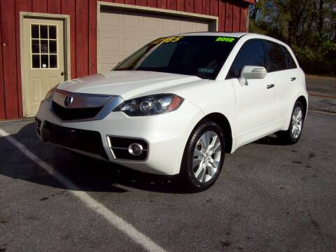 2012 Acura RDX for sale at Clift Auto Sales in Annville PA