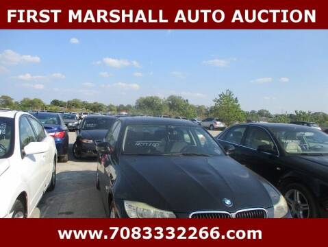 2010 BMW 3 Series for sale at First Marshall Auto Auction in Harvey IL