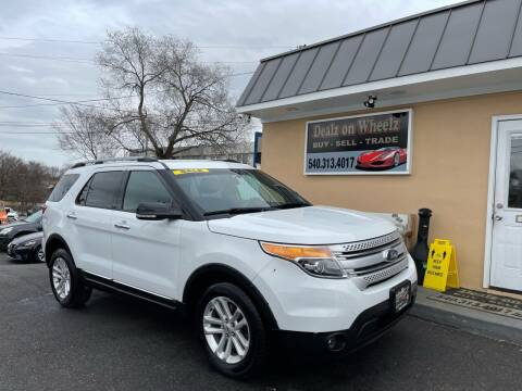 2015 Ford Explorer for sale at DEALZ ON WHEELZ in Winchester VA