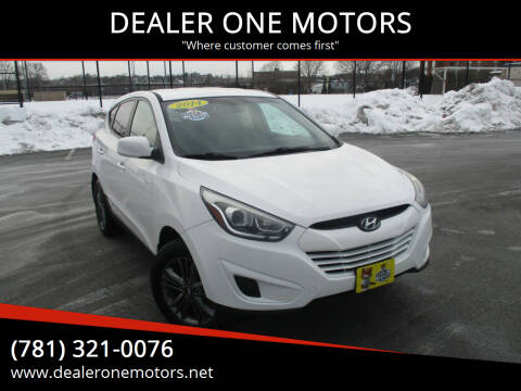 2014 Hyundai Tucson for sale at DEALER ONE MOTORS in Malden MA
