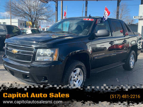 2007 Chevrolet Avalanche for sale at Capitol Auto Sales in Lansing MI
