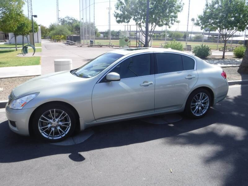 2007 Infiniti G35 for sale at J & E Auto Sales in Phoenix AZ