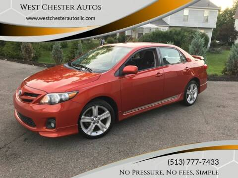 2013 Toyota Corolla for sale at West Chester Autos in Hamilton OH