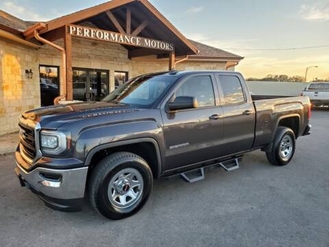 2016 GMC Sierra 1500 for sale at Performance Motors Killeen Second Chance in Killeen TX