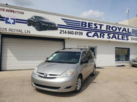 2006 Toyota Sienna for sale at Best Royal Car Sales in Dallas TX