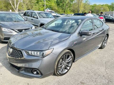 2018 Acura TLX for sale at Tiger Auto Sales in Columbus OH