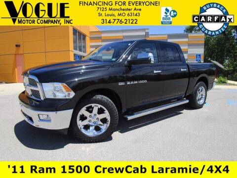 2011 RAM Ram Pickup 1500 for sale at Vogue Motor Company Inc in Saint Louis MO