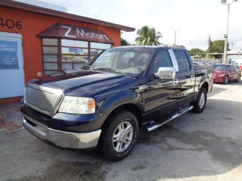 2006 Ford F-150 for sale at Z MOTORS INC in Hollywood FL