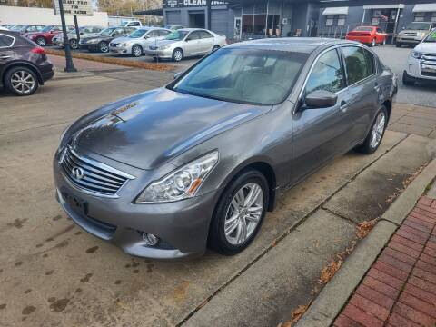 2011 Infiniti G37 Sedan for sale at DON BAILEY AUTO SALES in Phenix City AL