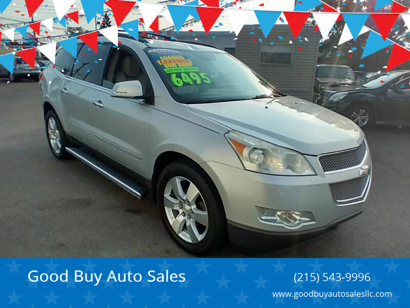2009 Chevrolet Traverse for sale at Good Buy Auto Sales in Philadelphia PA