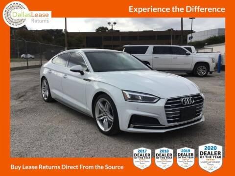 2019 Audi A5 Sportback for sale at Dallas Auto Finance in Dallas TX