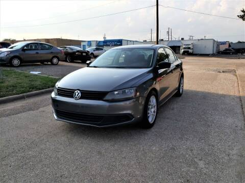 2012 Volkswagen Jetta for sale at Image Auto Sales in Dallas TX