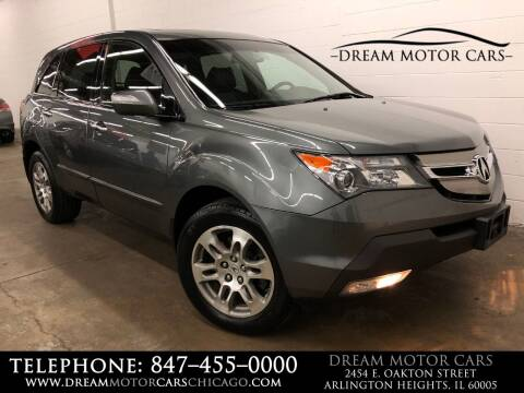 2008 Acura MDX for sale at Dream Motor Cars in Arlington Heights IL