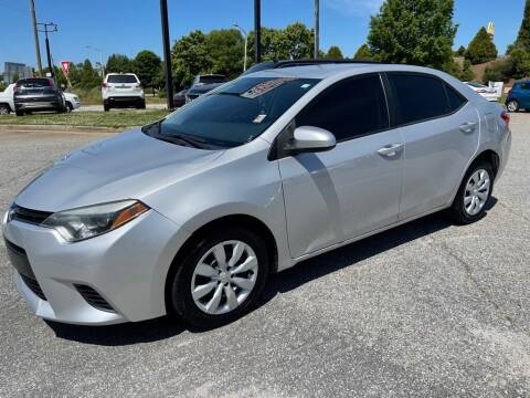 2015 Toyota Corolla for sale at Modern Automotive in Boiling Springs SC
