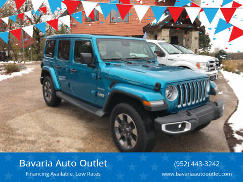 2019 Jeep Wrangler Unlimited for sale at Bavaria Auto Outlet in Victoria MN