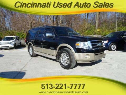2007 Ford Expedition EL for sale at Cincinnati Used Auto Sales in Cincinnati OH