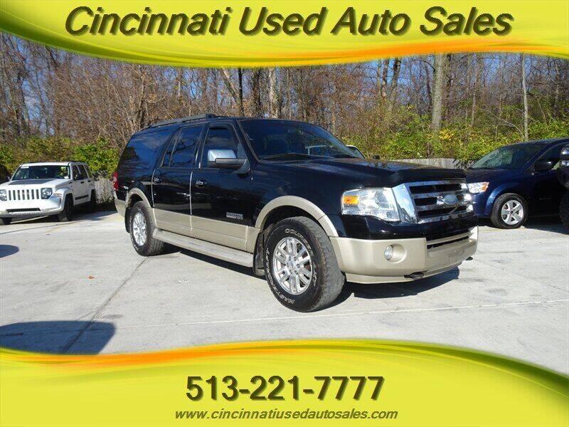 2007 Ford Expedition EL for sale at Cincinnati Used Auto Sales in Cincinnati OH